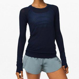 NWT Lululemon Swiftly Speed *LS, Sz 6, TRNV